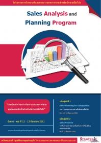 Sales Analysis and Planning Program