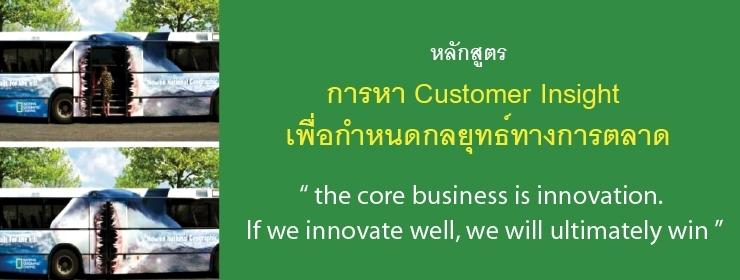 Customer Insight Creating Marketing Strategy