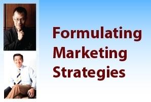 Formulating Marketing Strategies