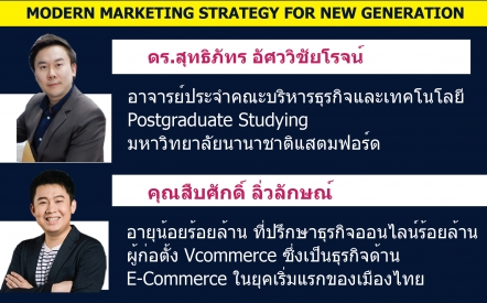 Modern Marketing Strategy for New Generation